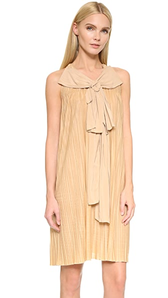 What Goes Around Comes Around Chloe Dress (Previously Owned) - Tan