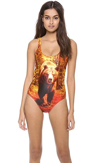 We Are Handsome The Kindred Scoop One Piece Swimsuit