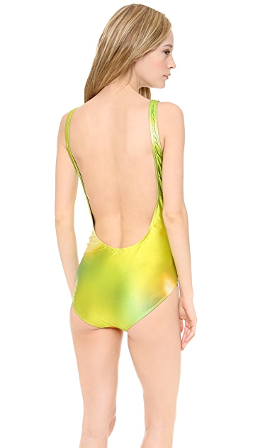 We Are Handsome The Voyeur One Piece Swimsuit