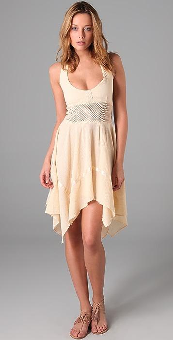 What Goes Around Comes Around Birtwell Halter Dress