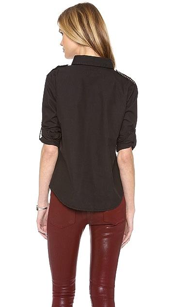 What Goes Around Comes Around Genesis Studded Shirt
