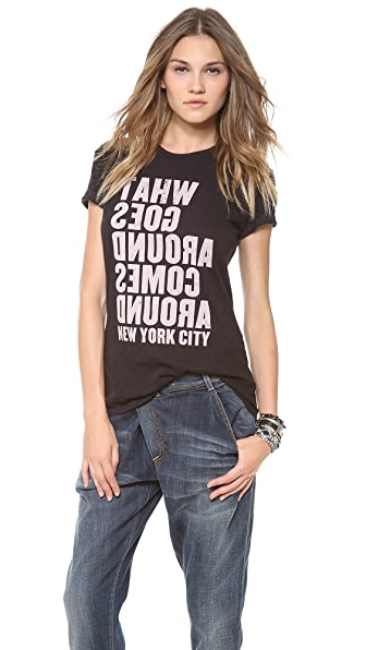 What Goes Around Comes Around Mirror Tee