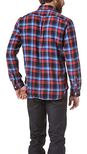 What Goes Around Comes Around Cleveland Plaid Sport Shirt