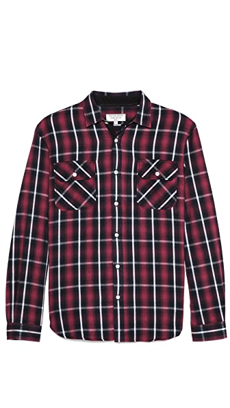 What Goes Around Comes Around Wilson Plaid Sport Shirt
