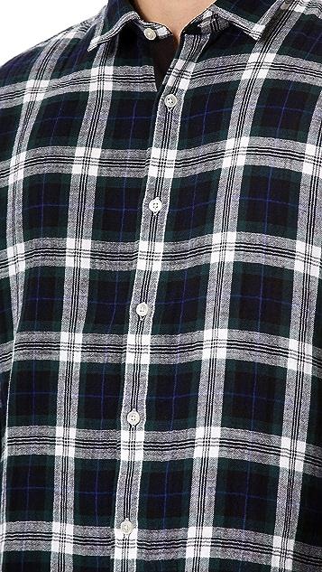 What Goes Around Comes Around Theodore Plaid Sport Shirt