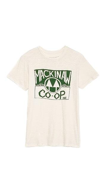 What Goes Around Comes Around Mackinaw Graphic Tee