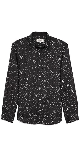 What Goes Around Comes Around Star Print Sport Shirt