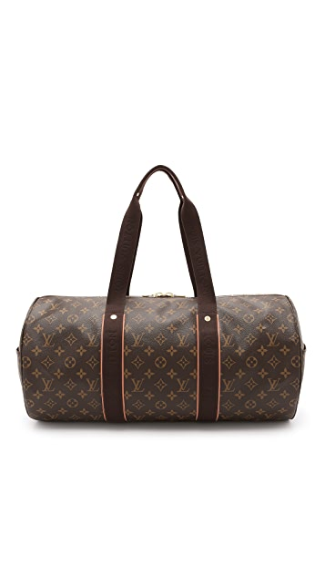 What Goes Around Comes Around Vintage Louis Vuitton Monogram Beaubourg Sport Duffel Bag