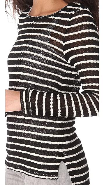 Whetherly Olivia Rib Stripe Top