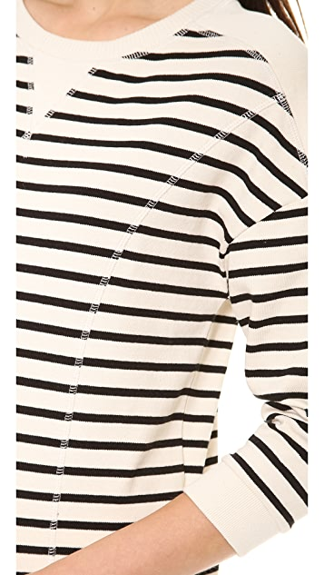Whistles Becca Stripe Sweater