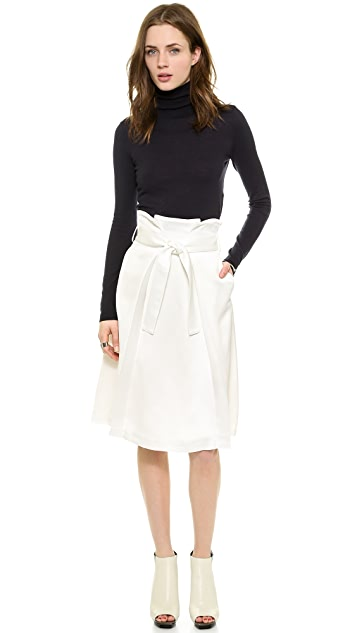 Whistles Aya Wrap Waist Skirt
