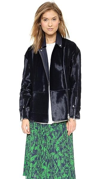 Whistles Yoko Soft Fur Jacket