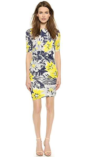 Whistles Sophia Bloomsbury Print Dress
