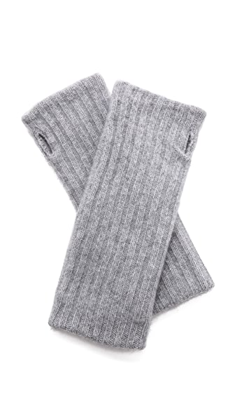 White + Warren Cashmere Rib Hand Warmers