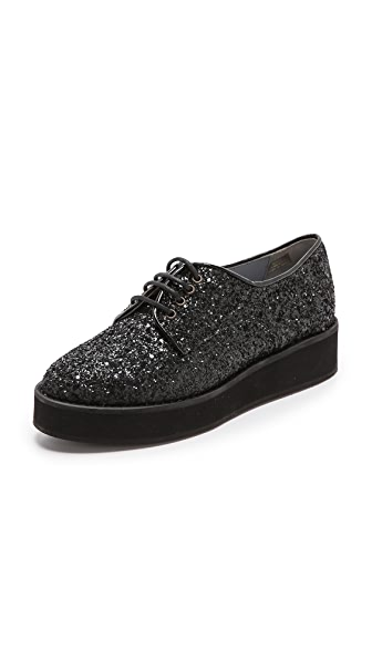 WHIT + Jacques Levine Jackson Glitter Oxfords