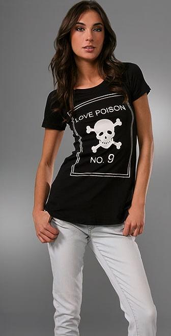 Wildfox Love Poison Crew Neck Tee