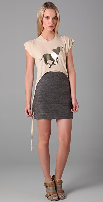 Wildfox Golden Unicorn Tee
