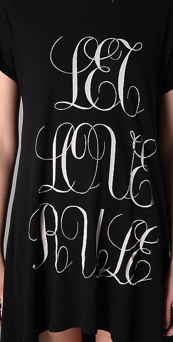 Wildfox Let Love Rule Dress