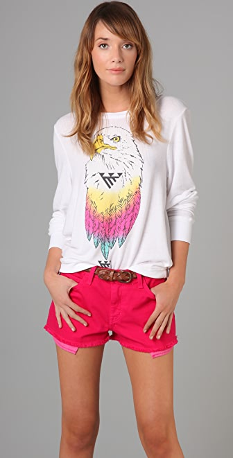 Wildfox Desert Eagle Beach Sweatshirt