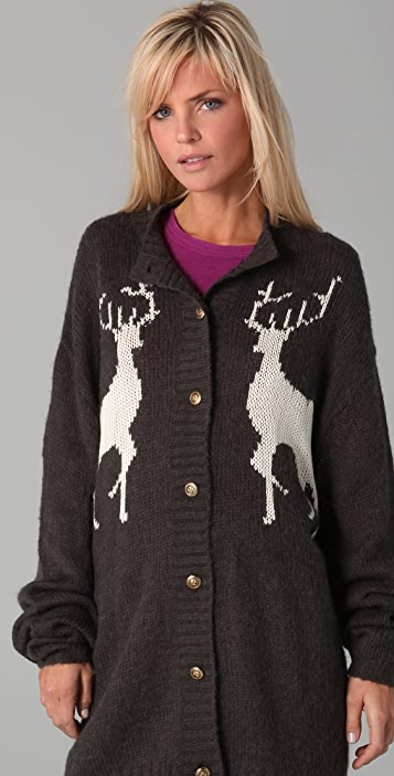 Wildfox Cabin Girl Cardigan