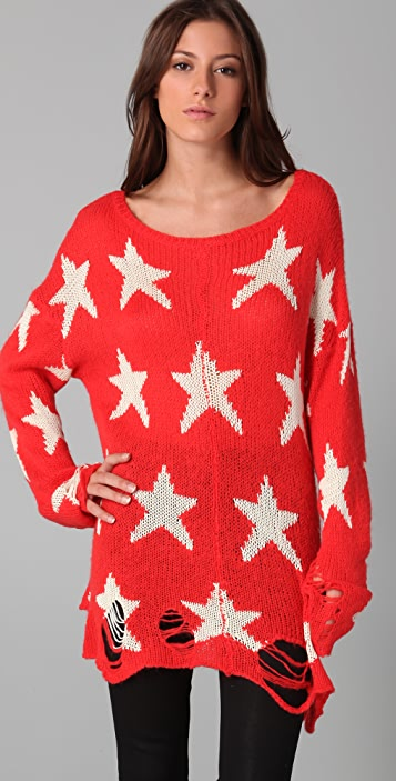 Wildfox Seeing Stars Sweater