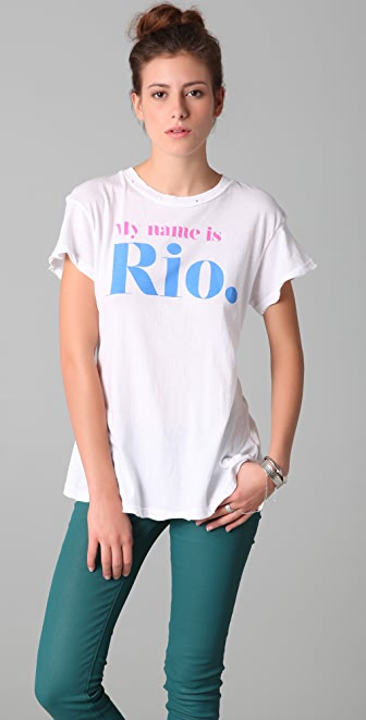 Wildfox My Name is Rio Tee