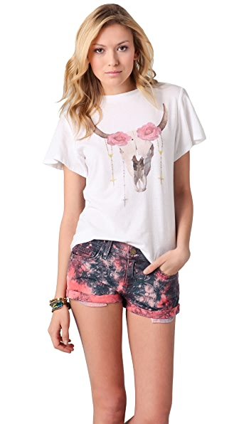 Wildfox Wildfox White Label Desert Rose Tee