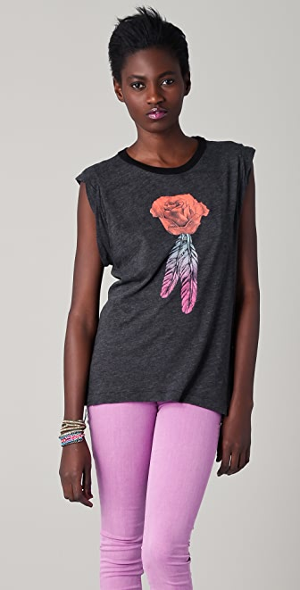Wildfox Sunshine Rose Tee