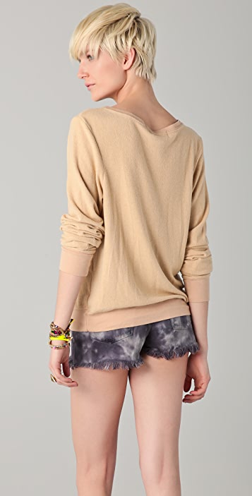 Wildfox Heartland Baggy Beach Sweatshirt