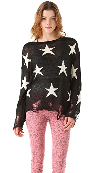Wildfox Wildfox White Label Seeing Stars Lennon Sweater