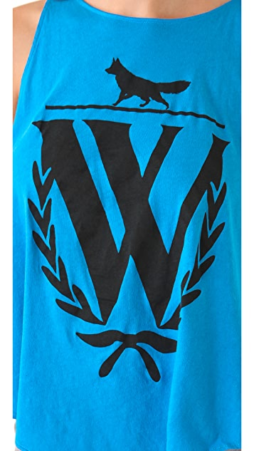 Wildfox Fox Logo Tank