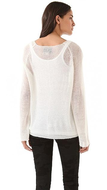 Wildfox Sacred Heart Sweater