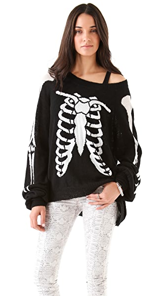 Wildfox Death Becomes Her Sweater