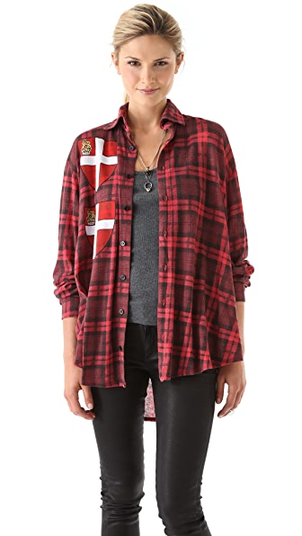 Wildfox Seattle Button Down Shirt