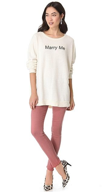 Wildfox Marry Me, Juliet Sweatshirt