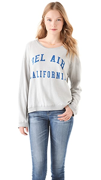 Wildfox Bel Air, CA Oversized Sweatshirt