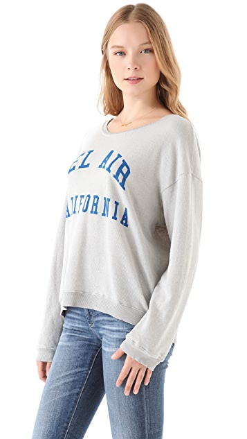 Wildfox Bel Air, CA Oversized Sweatshirt