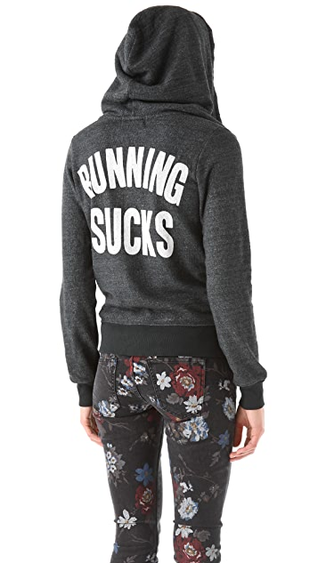 Wildfox Running Sucks Track Suit Jacket