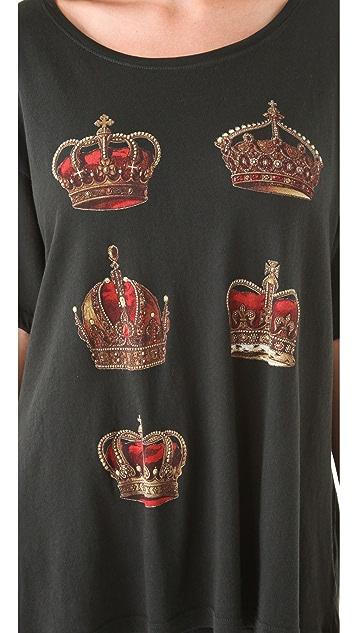 Wildfox Crowns Unisex Tee