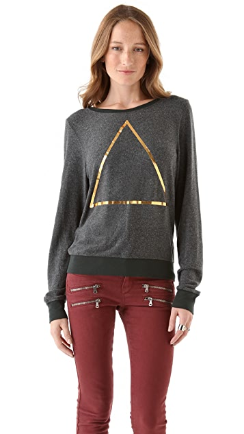 Wildfox Triangle Beach Sweatshirt