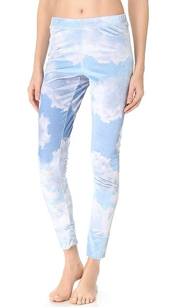 Wildfox Cupid Cloudy Sky Pajama Leggings