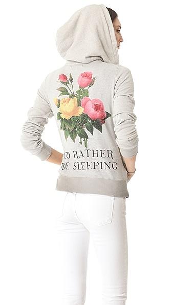 Wildfox Sleeping in Flowers Hoodie