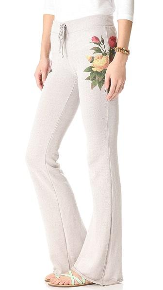 Wildfox Sleeping in Flowers Pants