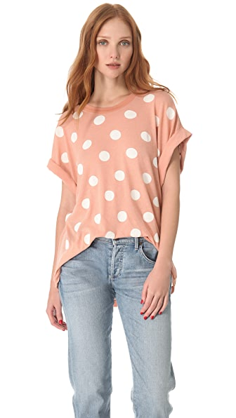 Wildfox Polka Dot Boy Tee