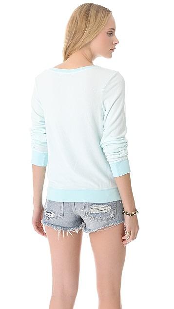 Wildfox Drunk on Love & Margaritas Baggy Beach Sweatshirt