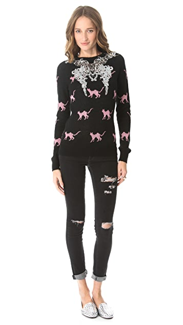 Wildfox The Great Catsby Party Sweater