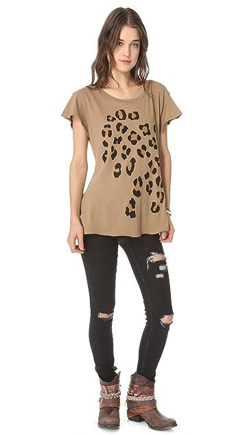 Wildfox Leopard Spots Hippie Tee