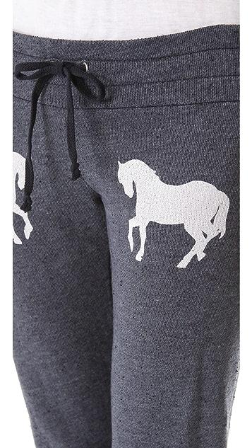 Wildfox Pony Express Skinny Sweatpants