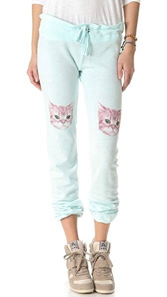 Wildfox Party Cat Sweatpants