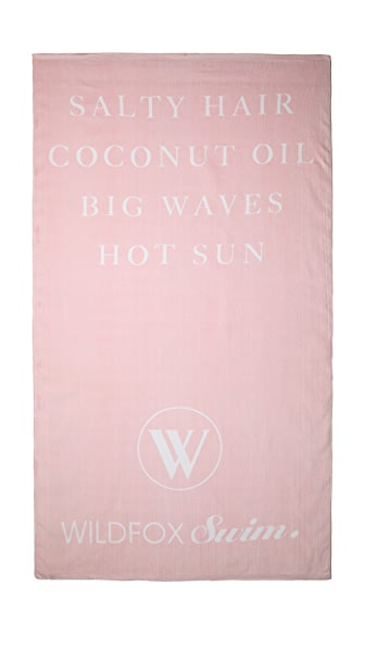 Wildfox Swim Towel